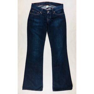 Lucky Brand Jeans Sz 2 Boot Cut Dark Wash Stretch
